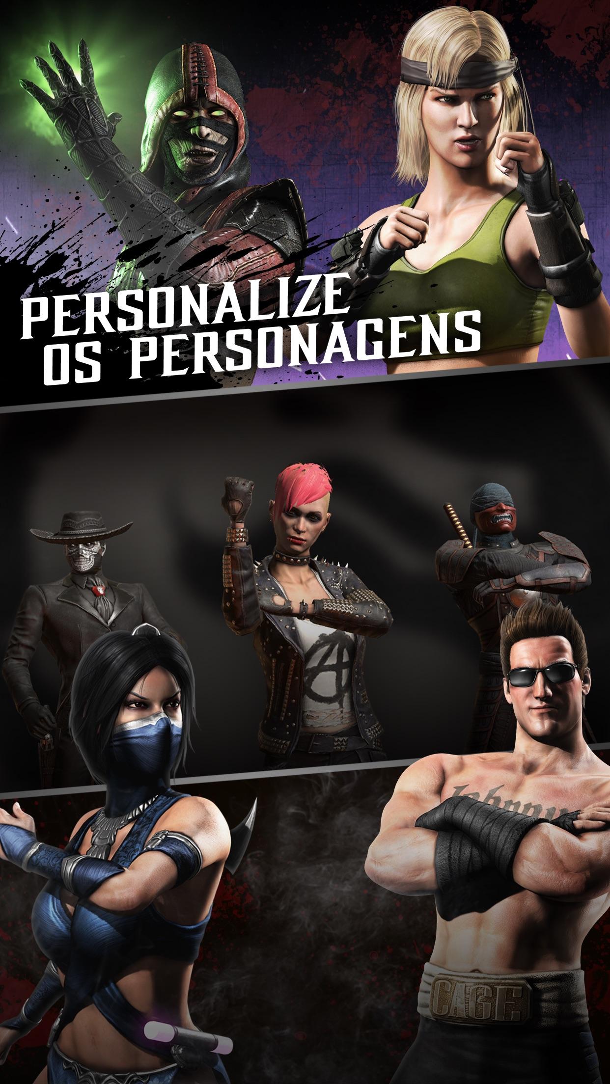 Screenshot do app Mortal Kombat