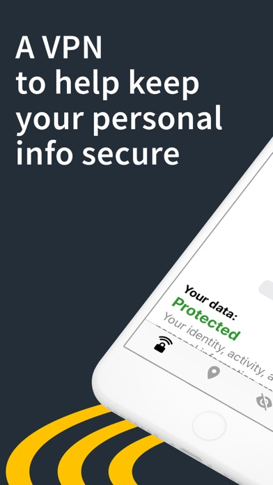 Screenshot for Norton Secure VPN - VPN Proxy in Canada App Store