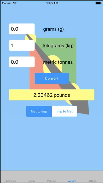 Metric To US Converter screenshot four