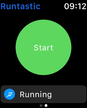 Бег и фитнес Runtastic GPS Screenshot