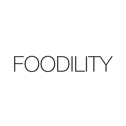 Simple Food Tracker Foodility iOS App