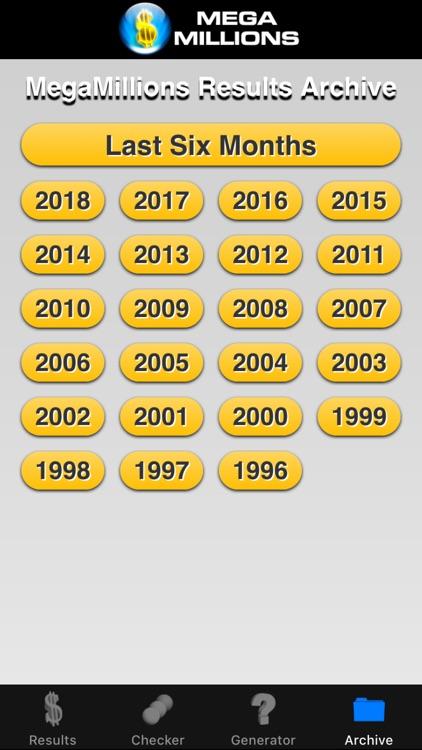 Mega Millions Lottery screenshot-4