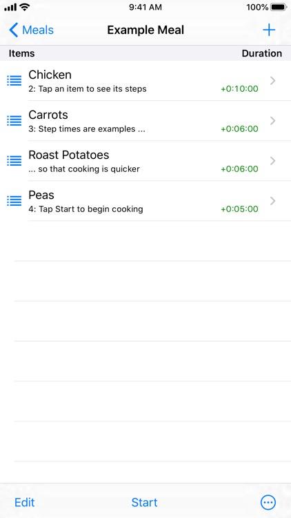 Easy Cooking Timer screenshot-3