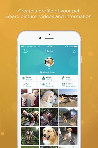 myPetShare - Pet Social Media - náhled