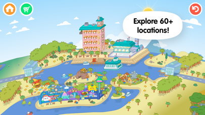 Screenshot for Toca Life: World in Romania App Store