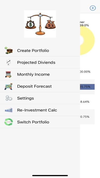 Divtracker Dividend Tracker screenshot-7