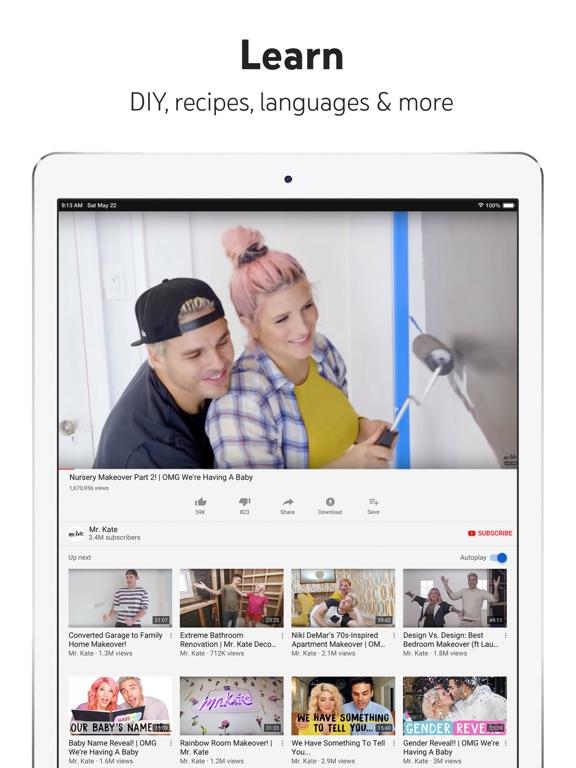 YouTube: Watch, Listen, Stream-ipad-4