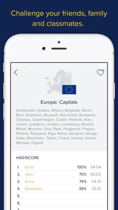 Screenshot for Seterra Geography (full) in Qatar App Store