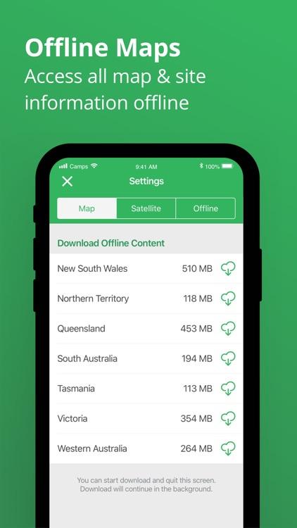 Camps Australia Wide GPS Guide screenshot-4