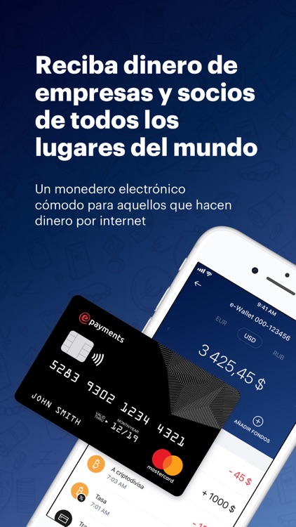 ePayments: wallet & bank card