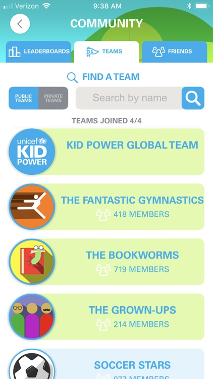 UNICEF Kid Power screenshot-6