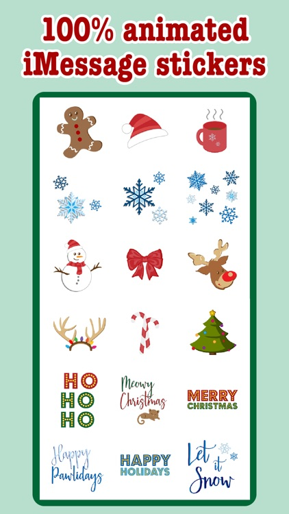 Christmas - Animated Stickers