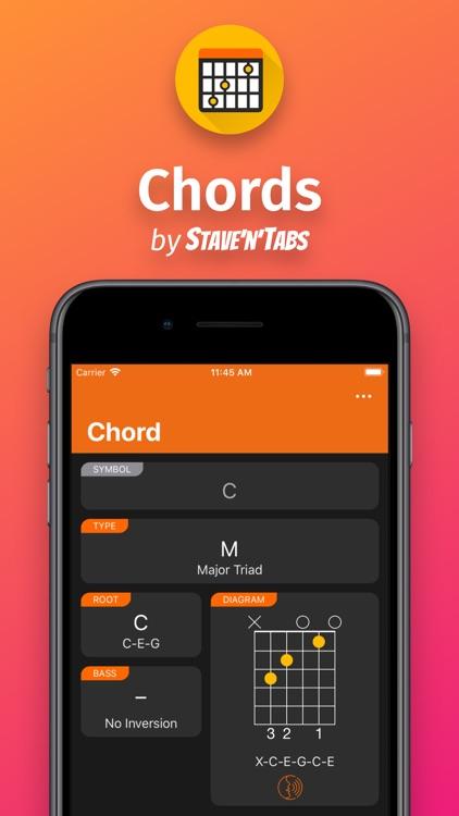 Chords by Stave'n'Tabs