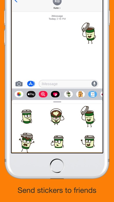 Coffee emoji - Say it Fun mess screenshot 4