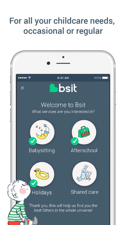 Bsit, the childcare app