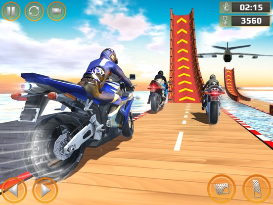 Impossible Bike Stunt Games 3D screenshot #5
