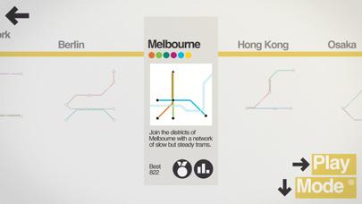 Screenshot for Mini Metro in United States App Store