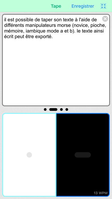 Screenshot #3 pour Morse-It