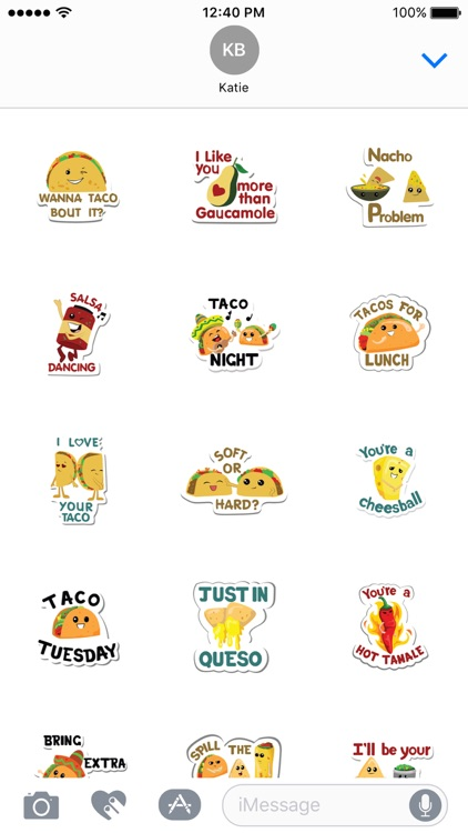 Taco Stickers screenshot-3