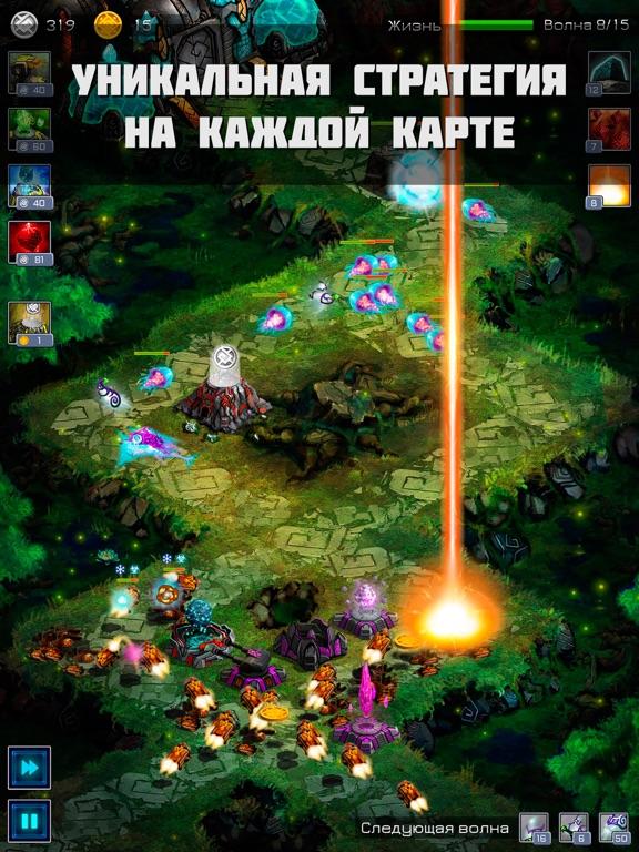 Ancient Planet Tower Defense для iPad