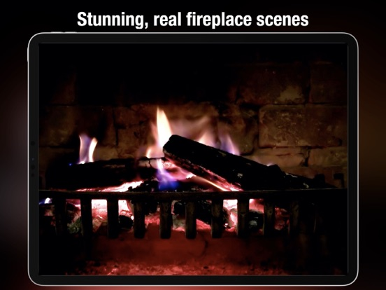 Fireplace live HD free: Relaxing romantic fires & Soothing white noise sounds to fall asleep screenshot