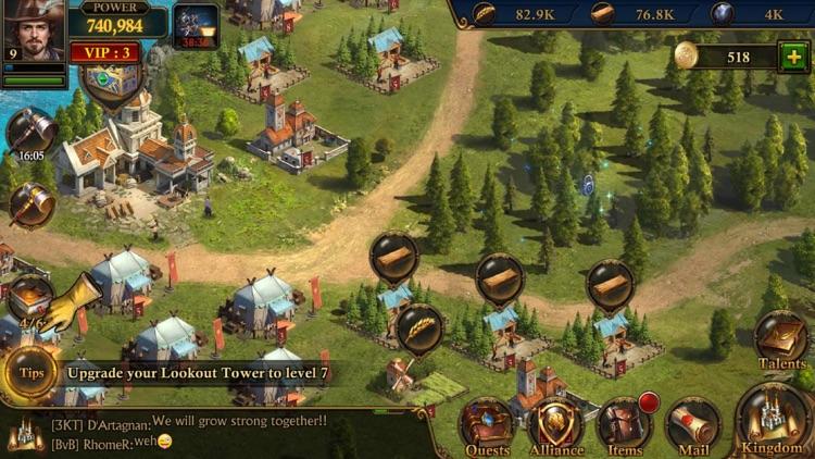 ガンズ・オブ・グローリー: キングダム戦略MMO戦争 screenshot-5