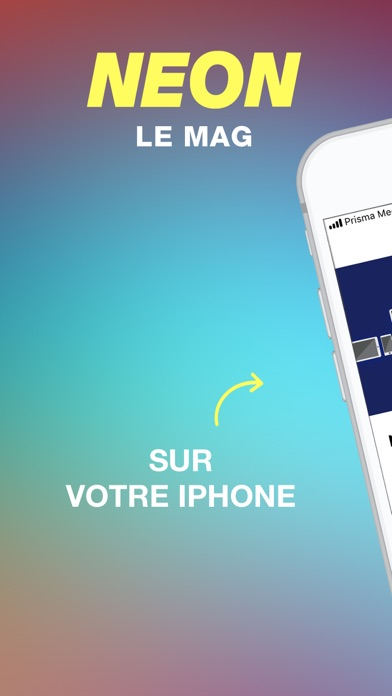 NEON le magazine screenshot one
