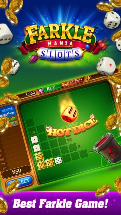 Farkle mania -slots,dice,bingo screenshot-0