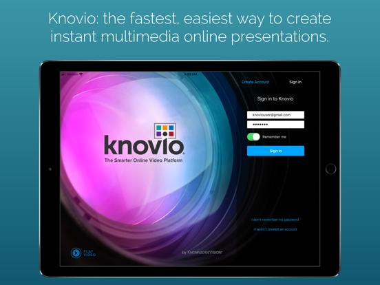 Knovio Mobile: Instant Multimedia Content screenshot