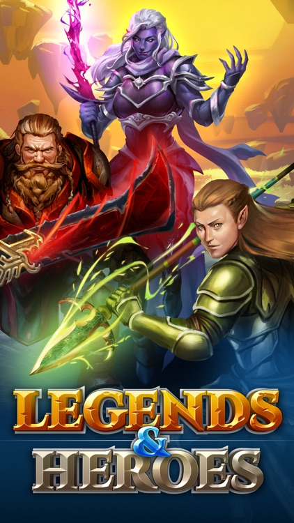 Legends & Heroes screenshot-5