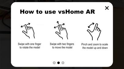 vsHome AR screenshot one