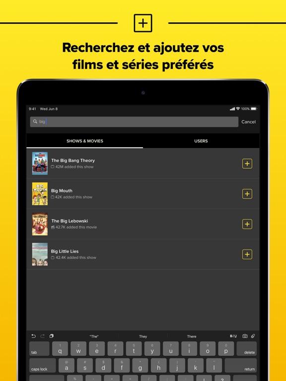 TV Time: Suivi séries et films