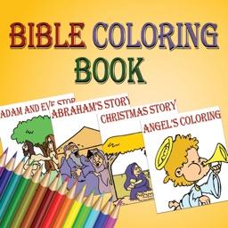 Bible coloring book stories