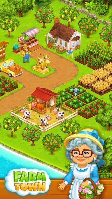 Farm Town: Happy farming Day Screenshot on iOS