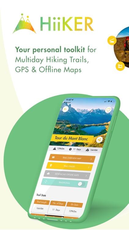 Hiiker: Long-Distance Trails