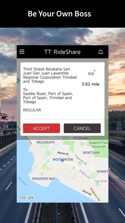 TT RideShare Driver screenshot-3