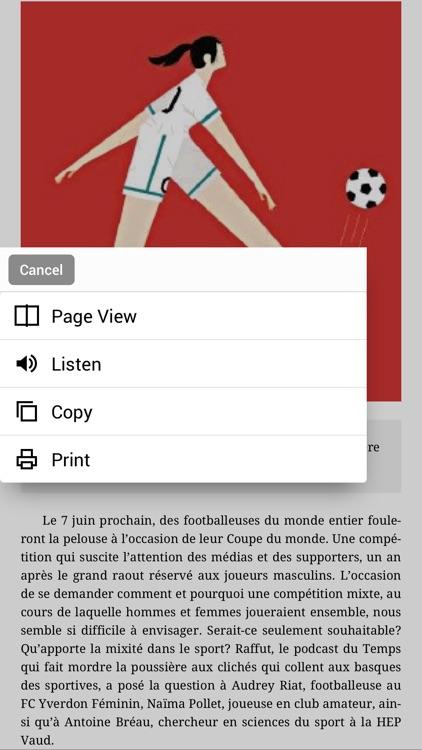 Le Temps ePaper screenshot-5