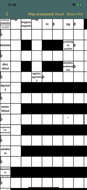 Anki Crossword
