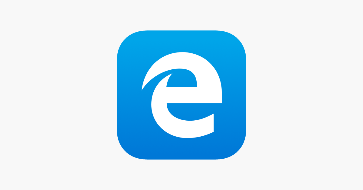 Microsoft Edge On The App Store