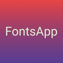 FontsApp - FontKeyboard Style