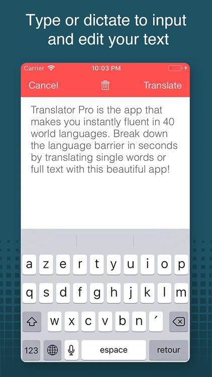 Translator Pro!! screenshot-3