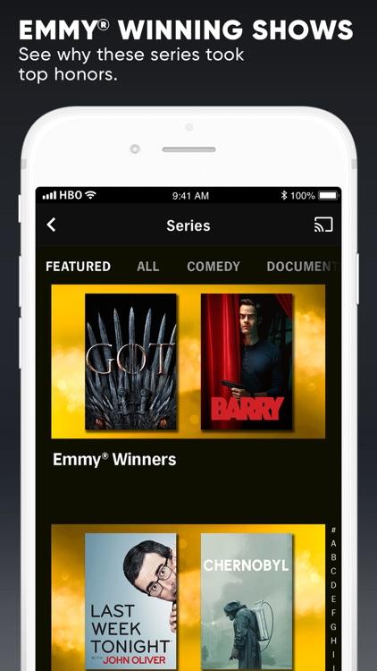 HBO NOW: Stream TV & Movies screenshot-4