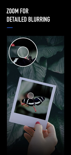 размытие фона размытие фото Screenshot