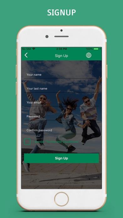 Jump Media App screenshot two