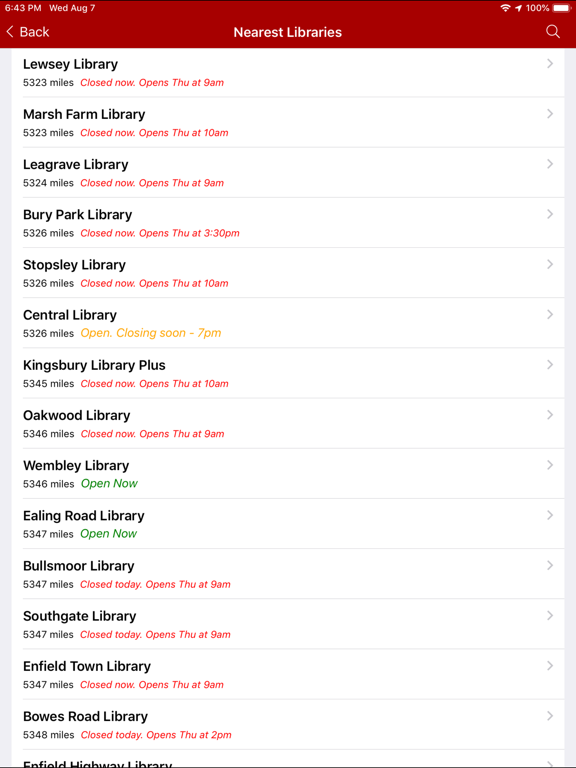 My Library App screenshot 10
