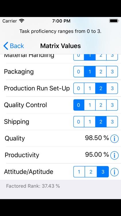 Resource Alignment Matrix screenshot-4