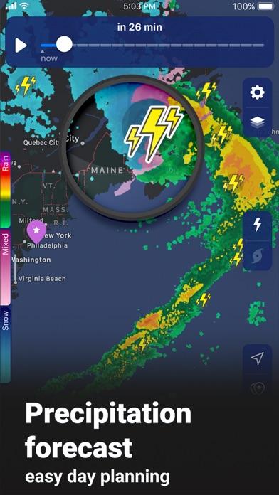 NOAA Weather Radar Live Screenshot