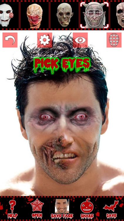 Scary face maker & swap editor screenshot-4
