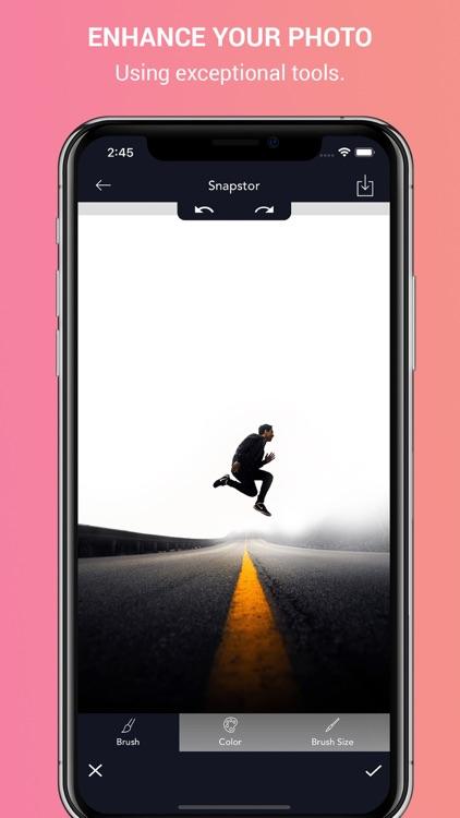 Snapstor - Best photo editor screenshot-3