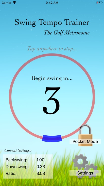 Swing Tempo Trainer